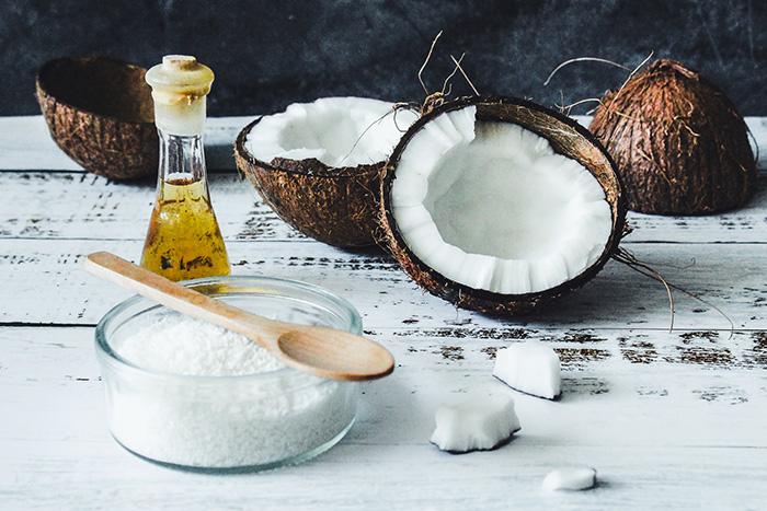 Органическое кокосовое масло