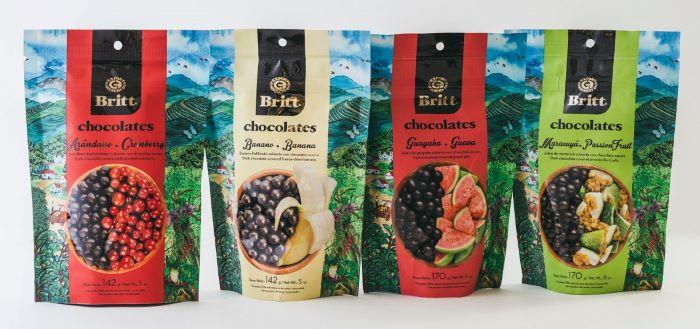 Орехи и фрукты в шоколаде Café Britt
