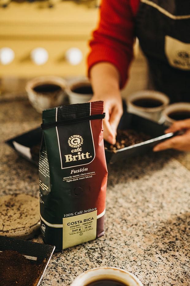 Кофе Café Britt