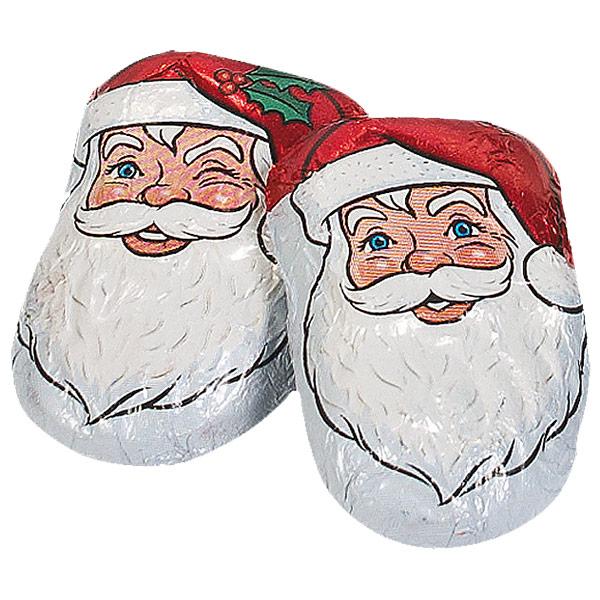 Palmer® Caramel Santas Chocolate Candy