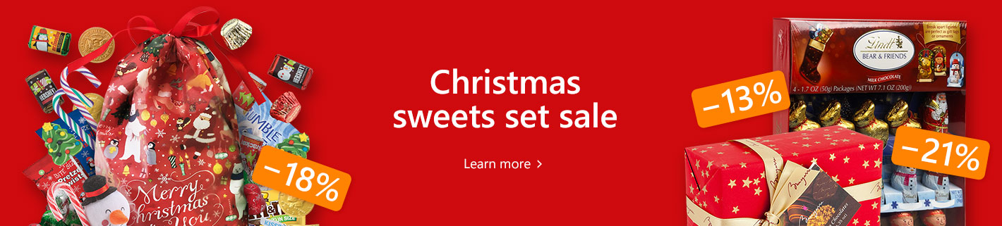 Christmas sweets set sale