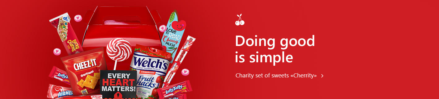 Charity set of sweets Cherrity