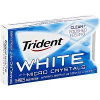 История популярной жевательной резинки Trident