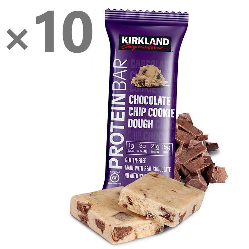Протеиновые батончики Kirkland (печенье), 10 шт.