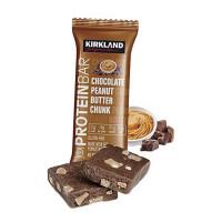 Протеиновые батончики Kirkland (арахисовая паста с шоколадом), 20 шт.