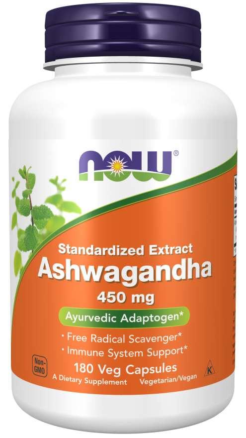Ашваганда 450 мг NOW, 180 капсул