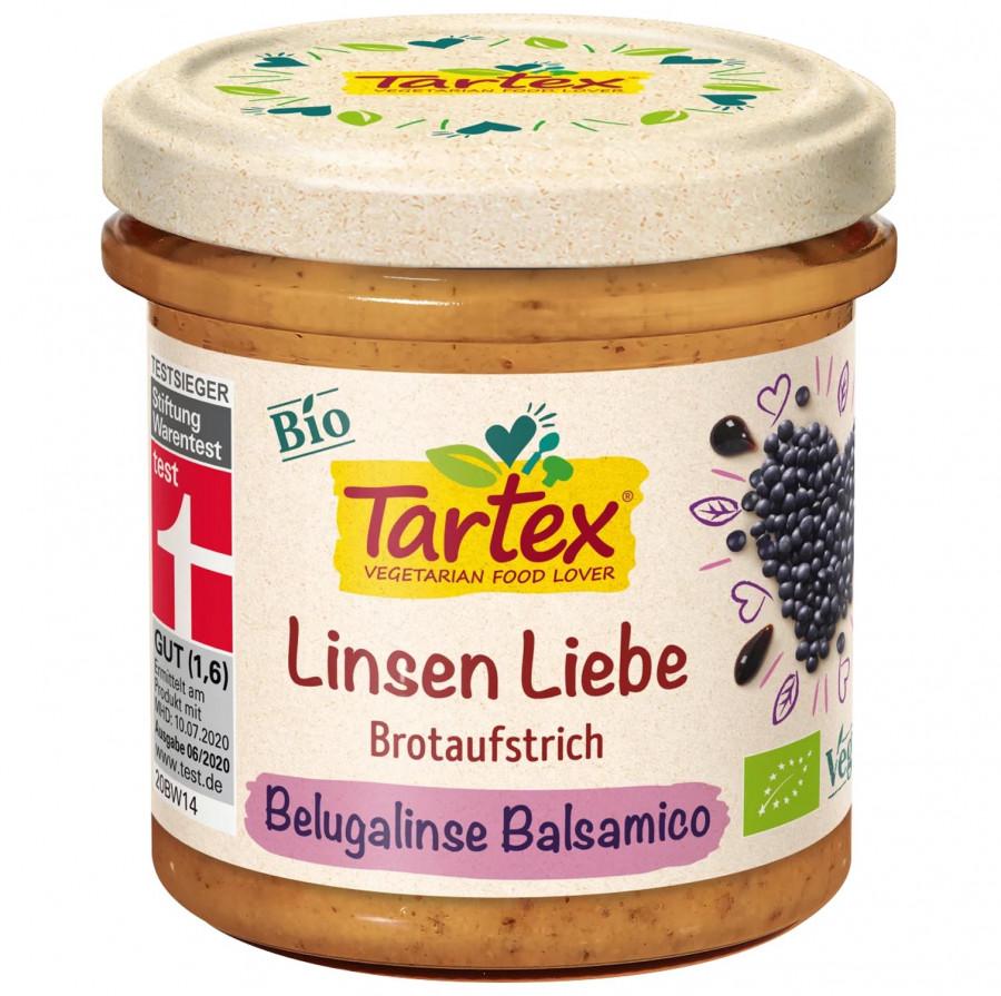 Aufstrich, Beluga Linse Balsamico Tartex, 140 g