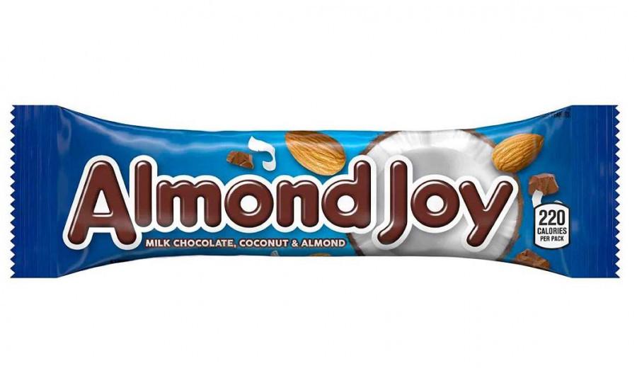 Батончик Almond Joy с кокосовой мякотью и миндалем в молочном шоколаде, 1 шт.
