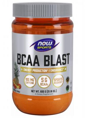 BCAA коктейль с ароматом тропических фруктов, NOW Sports, 600 г