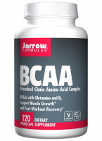 Комплекс BCAA Jarrow, 120 капсул
