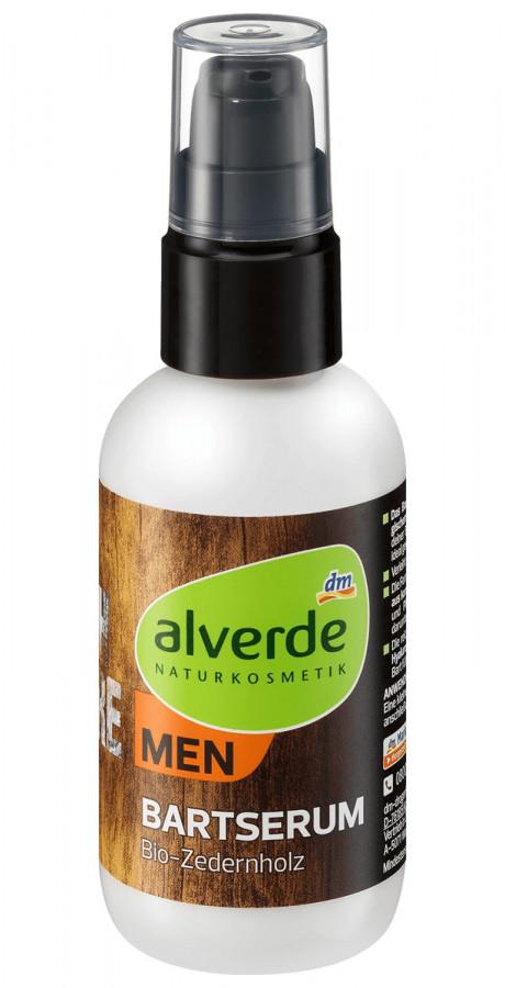 Сыворотка с маслом кедра для ухода за бородой и усами Alverde, 75 мл