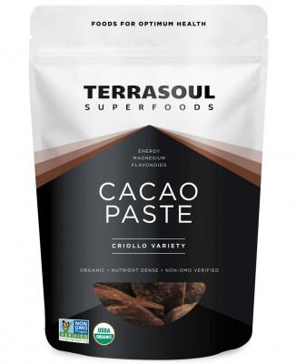 Органическая паста какао Terrasoul, 450 г
