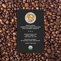 Candy Tiger Breakfast Blend Organic whole bean coffee, 12 oz
