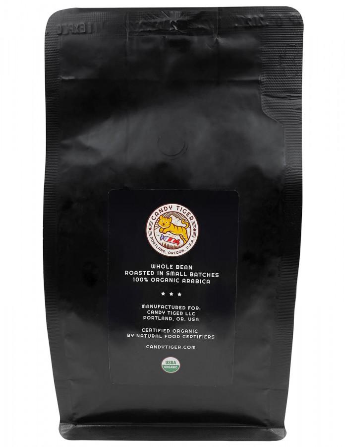 Органический кофе в зернах Candy Tiger Breakfast Blend, 340 г