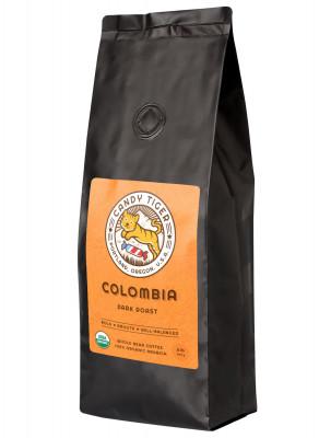 Органический кофе в зернах Сandy Tiger Colombia, 907 г