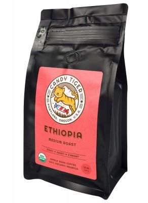 Органический кофе в зернах Candy Tiger Ethiopia, 340 г