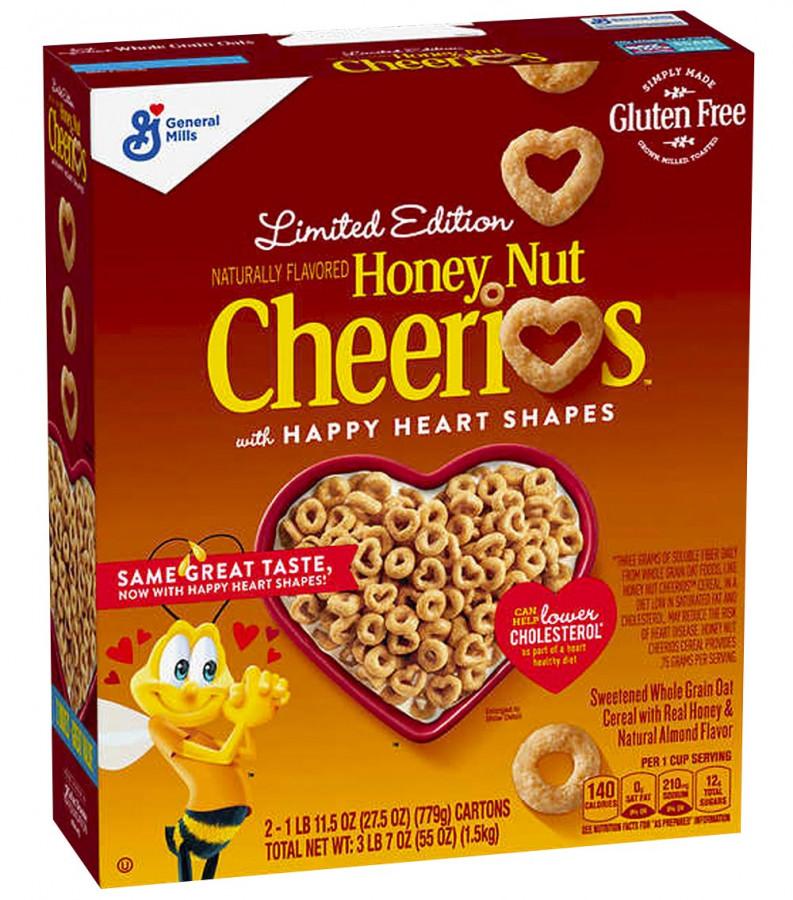 Медовые хлопья Cheerios, 770 г