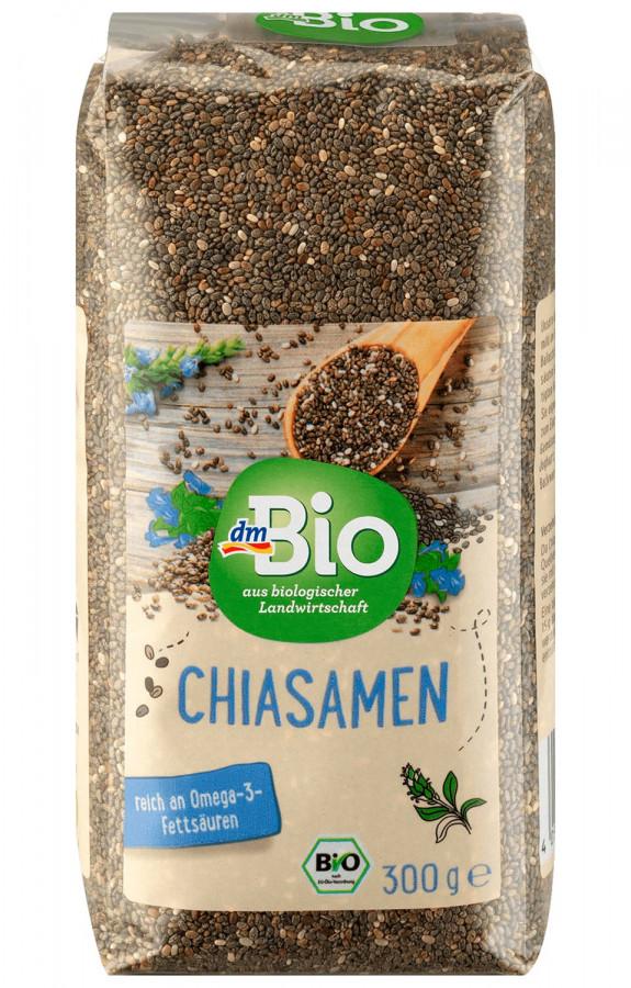 Chia seeds dmBio, 300 g