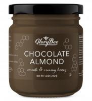 Мед с шоколадом и миндалем GloryBee