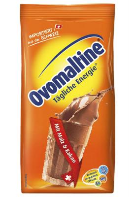 Энергетический коктейль со вкусом шоколада Ovomaltine, мягкая упаковка 500 г