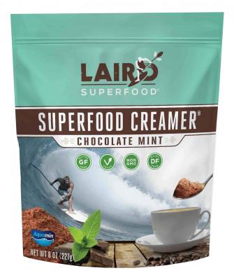 Chocolate Mint Superfood Creamer Laird Superfood, 8 oz