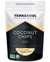 Обжаренные кокосовые чипсы Terrasoul, 340 г