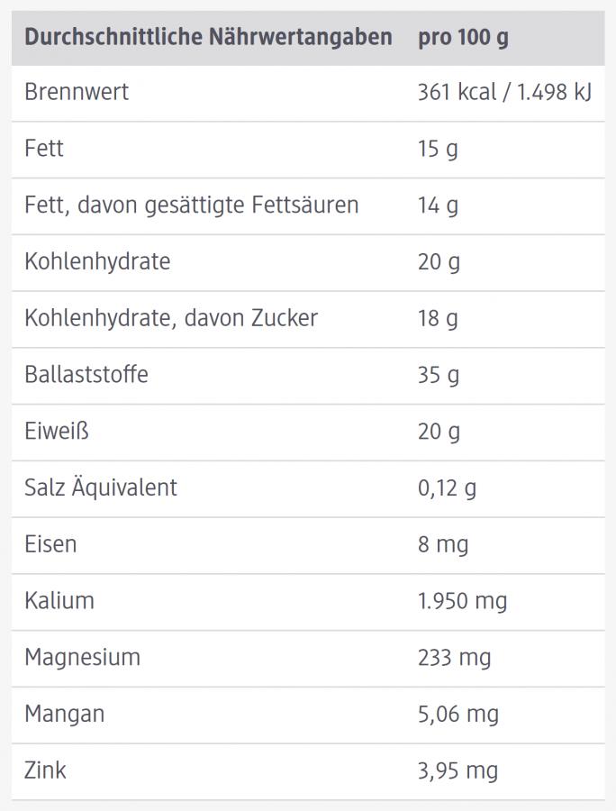Coconut flour dmBio, 300 g