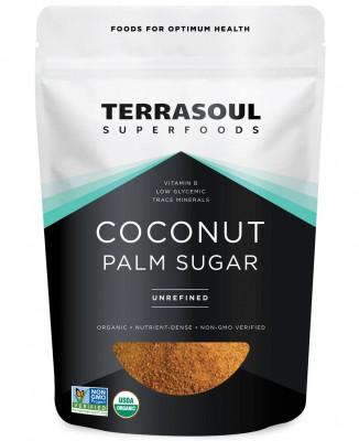 Органический кокосовый сахар Terrasoul, 226 г