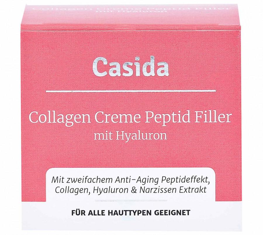 Collagen Creme Peptid Filler Casida, 50 ml
