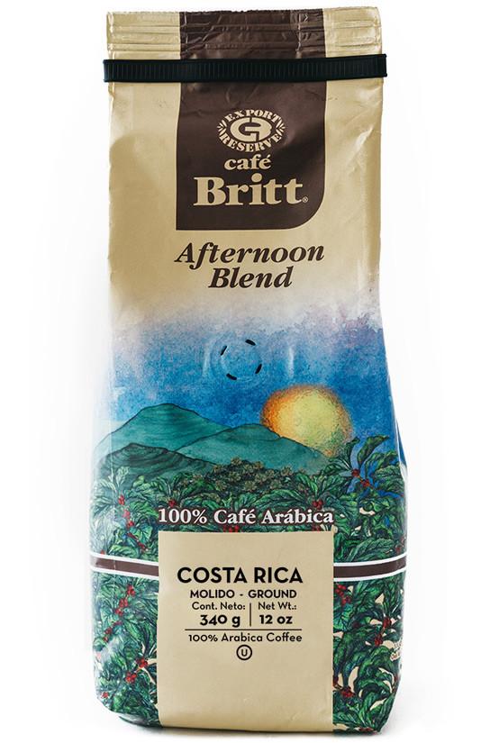 Молотый кофе Café Britt Afternoon Blend, 340 г