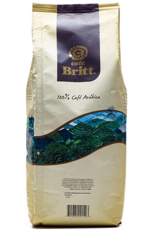 Кофе в зернах Café Britt Dark Roast, 900 г