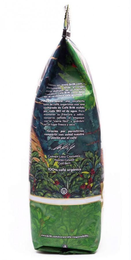 Кофе в зернах Café Britt Organic, 340 г