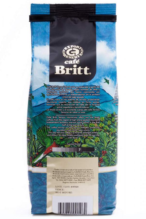 Café Britt Tarrazu Montecielo whole bean