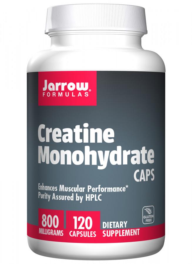 Creatine Monohydrate Caps Jarrow, 120 Capsules