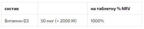 D3 2.000 I.E Dekristolvit, 60 tablets