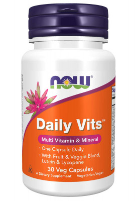 Daily Vits NOW, 30 Veg Capsules