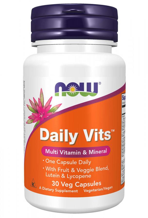 Daily Vits NOW, 30 Veg Capsules