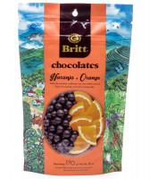Dark chocolate covered orange Britt, 6 oz
