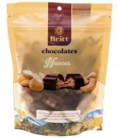 Dark Chocolate with Creamy Nut Filling Britt, 7.8 oz