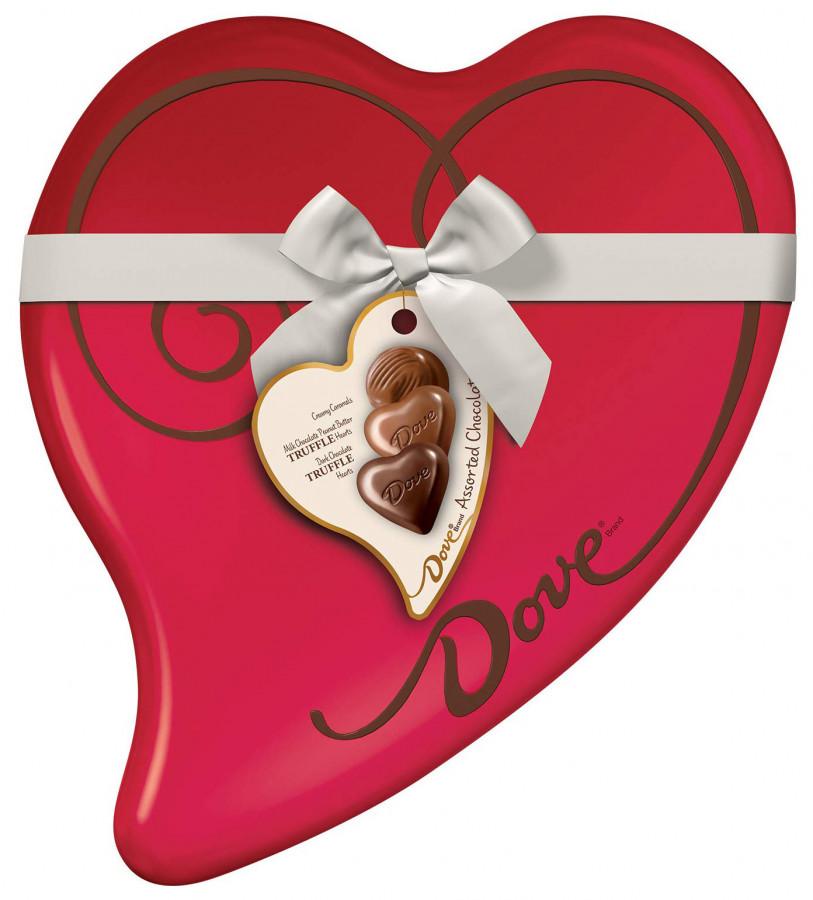 Набор конфет Dove в подарочной упаковке