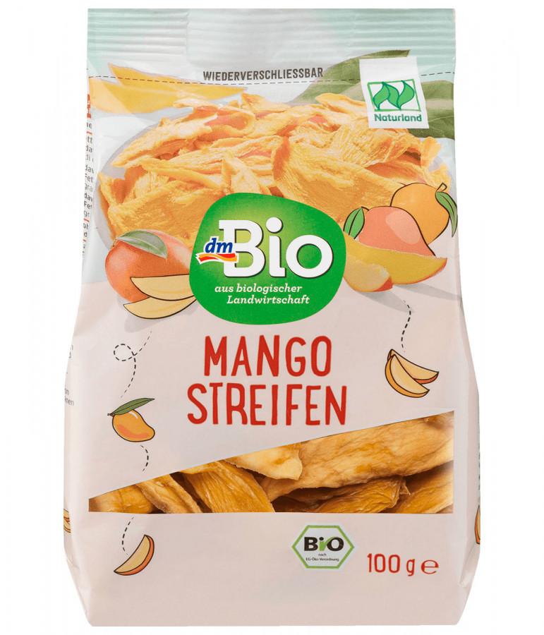 Сушеное манго dmBio, 100 г