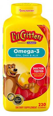 L'il Critters Omega-3 DHA, 220 Gummies