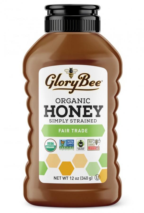 Fair Trade Simply Strained Honey GloryBee