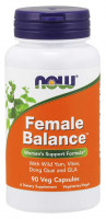 Female Balance Veg NOW, 90 Capsules
