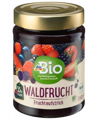 Fruchtaufstrich Waldfrucht 55% dmBio, 340 g