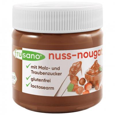 Frusano Schokoladenaufstrich, Nuss-Nougat Creme Frusano, 200 g