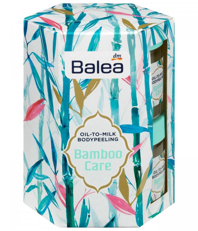 Geschenkset Bamboo Care Peeling Balea, 2x150ml