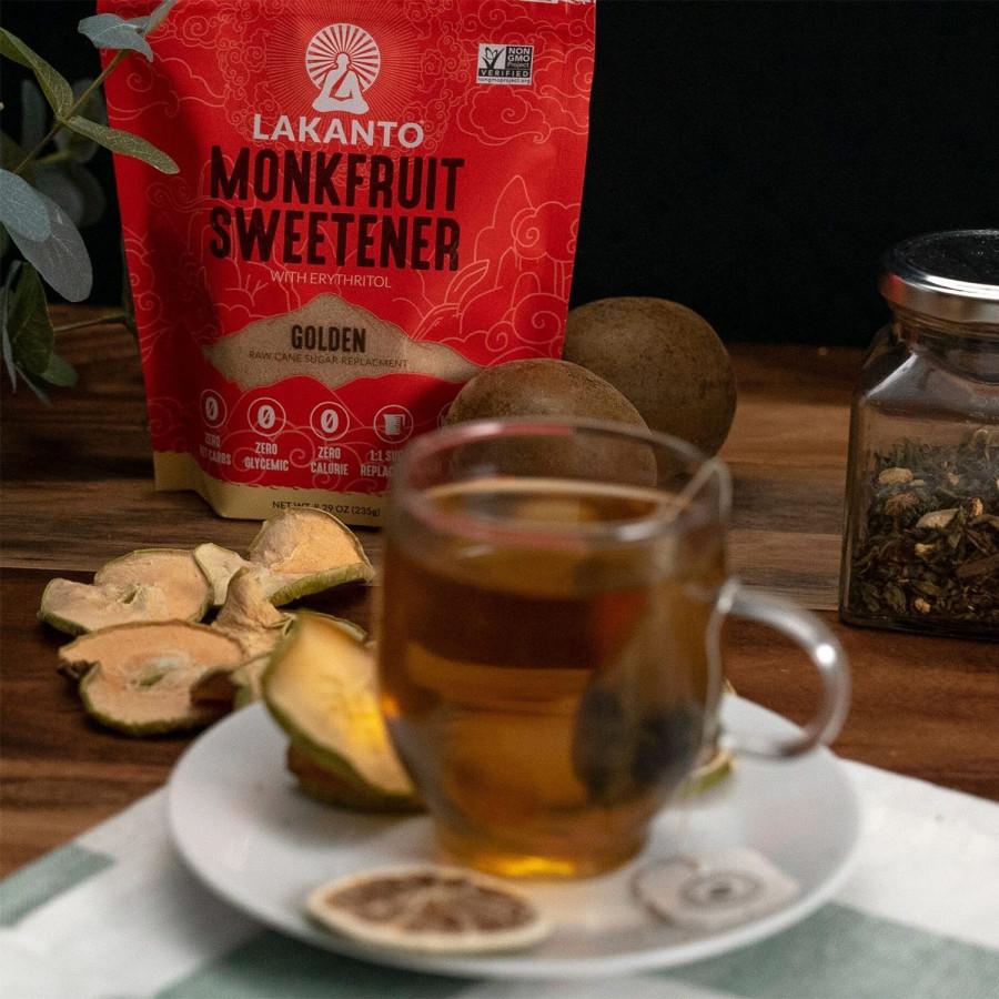 Golden Monk Fruit Sugar Substitute Lakanto, 235 G