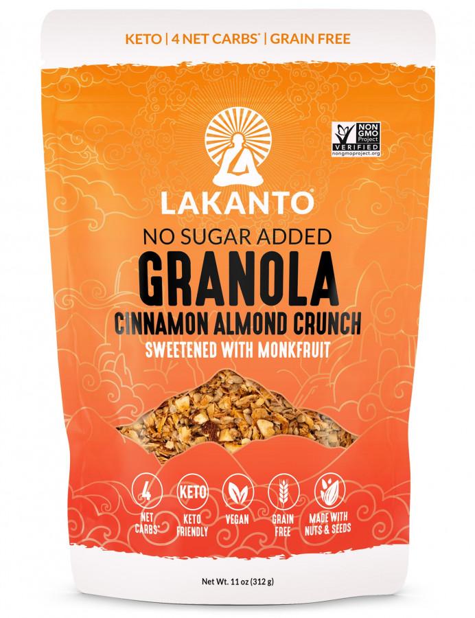 Granola Cinnamon Almond Lakanto, 11 oz