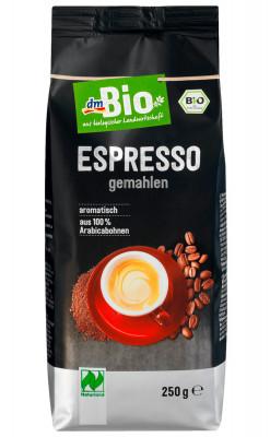 Кофе молотый dmBio, 100% арабика, 250 гр